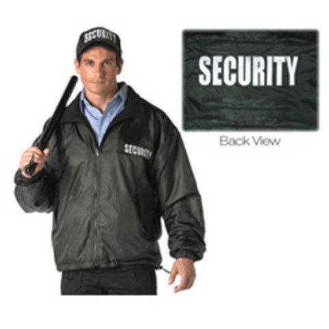 Vojenská bunda - Bunda SECURITY oboustranná ČERNÁ