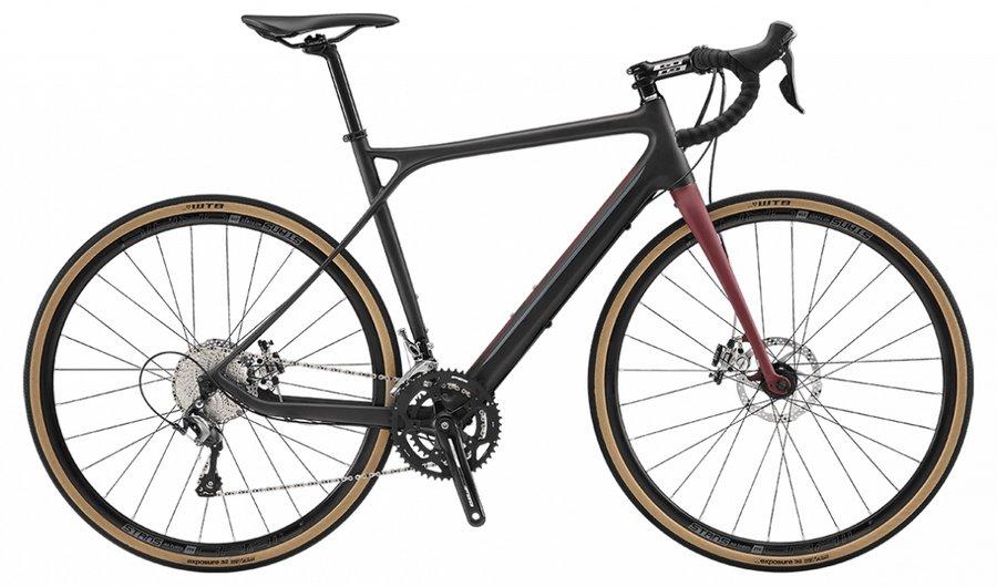 Kolo - GT Grade Carbon Elite 2019 satin black-wine red-grey, 55