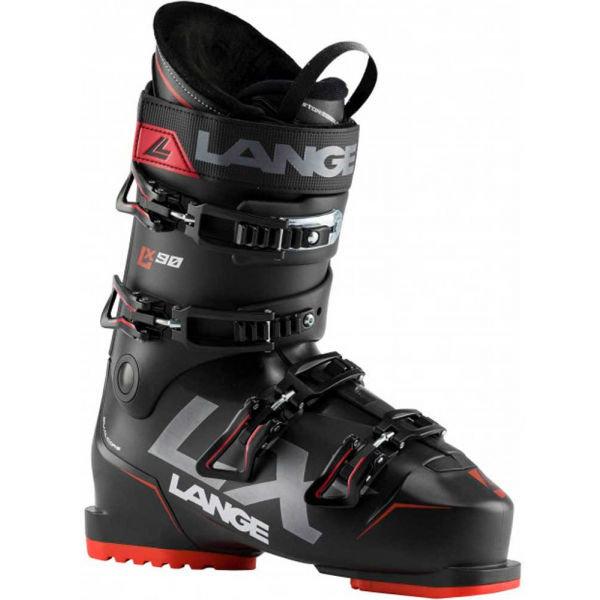 Černé pánské lyžařské boty Lange