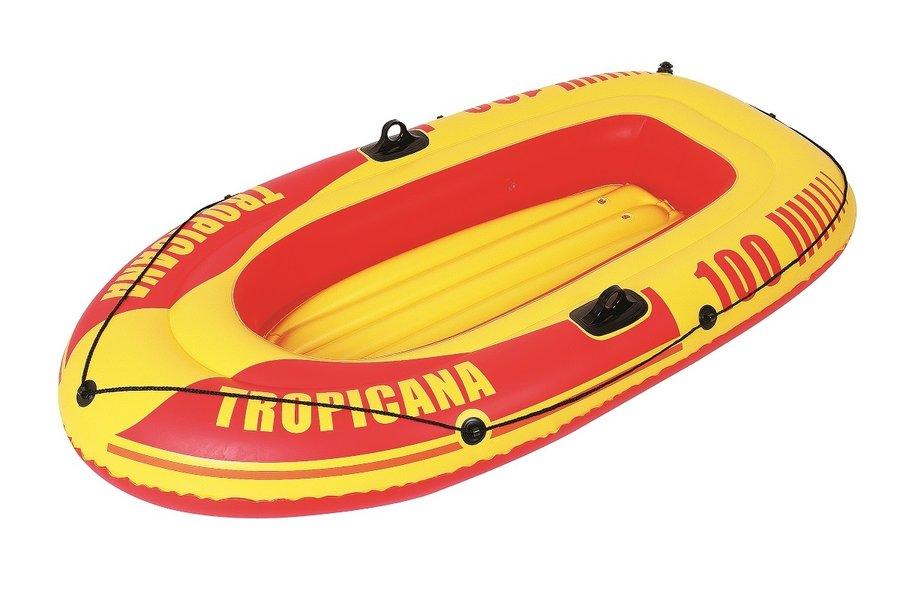 Žlutý nafukovací člun s nafukovacím dnem pro 1 osobu Master Pool
