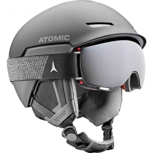 Černá lyžařská helma Atomic - velikost 59-63 cm
