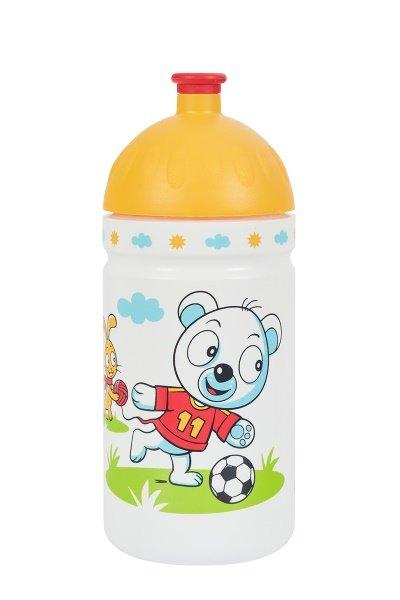 Oranžová sportovní láhev na pití Zdravá lahev, R&B - objem 0,5 l