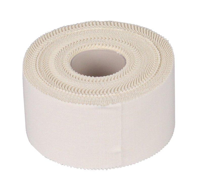 Bílá tejpovací páska Merco - délka 13,8 m a šířka 3,8 cm