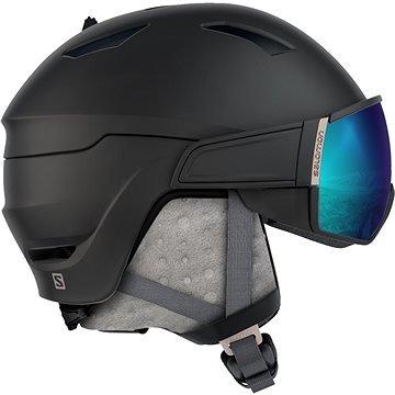 Černá lyžařská helma Salomon - velikost S