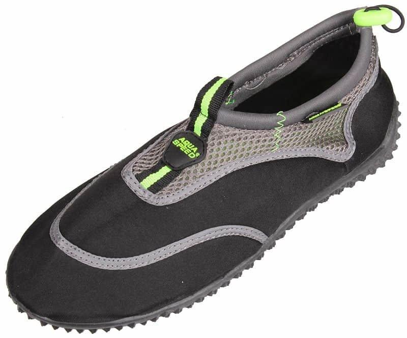 Černo-šedé boty do vody Jadran 5, Aqua-Speed