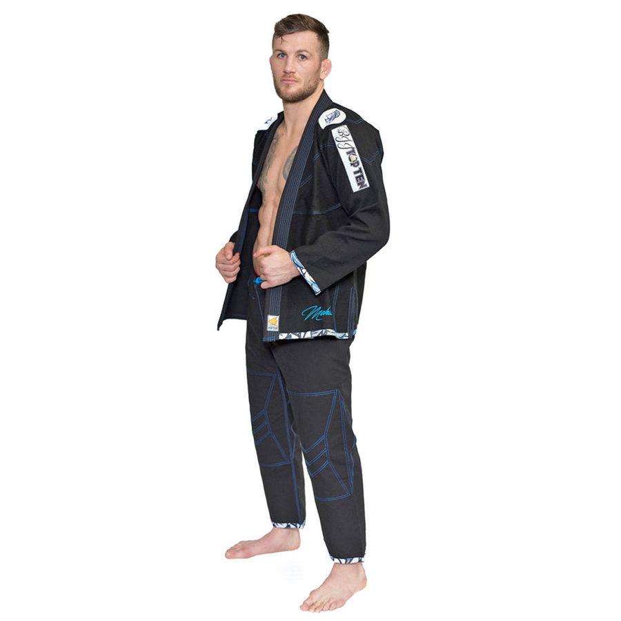 Černé kimono na jiu-jitsu Top Ten