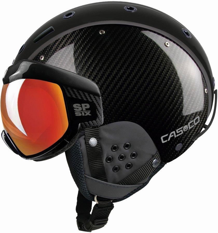 Černá pánská helma na snowboard Casco - velikost 58-62 cm