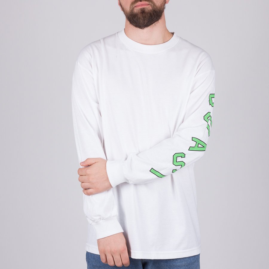 Bílé pánské tričko s dlouhým rukávem Roo, Quasi
