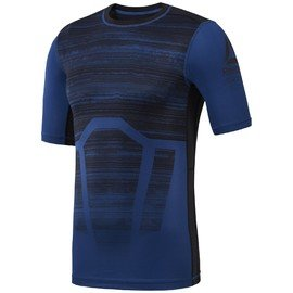 Modré pánské tričko s krátkým rukávem Reebok