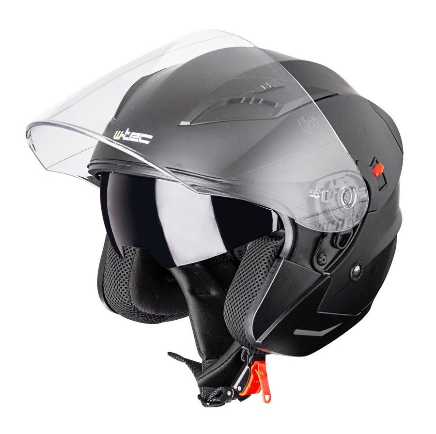 Helma na motorku W-TEC