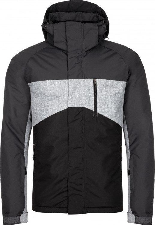 Černá zimní pánská bunda s kapucí Kilpi