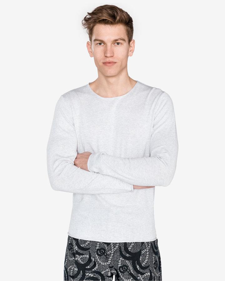 Šedý pánský svetr Selected