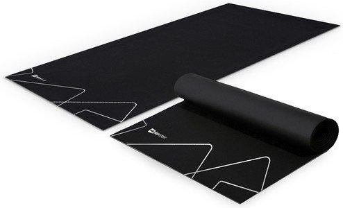 Černá zátěžová podložka Hop-Sport - tloušťka 3 mm