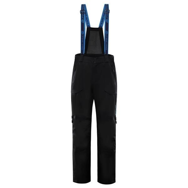 Černé pánské lyžařské kalhoty Alpine Pro - velikost S