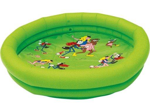Dětský nafukovací nadzemní kruhový bazén Wiky - průměr 86 cm a výška 15 cm