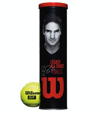 Tenisový míček RF Legacy Court, Wilson - 4 ks