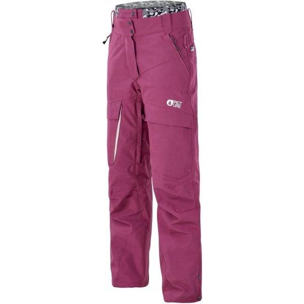 Fialové zimní dámské kalhoty Picture