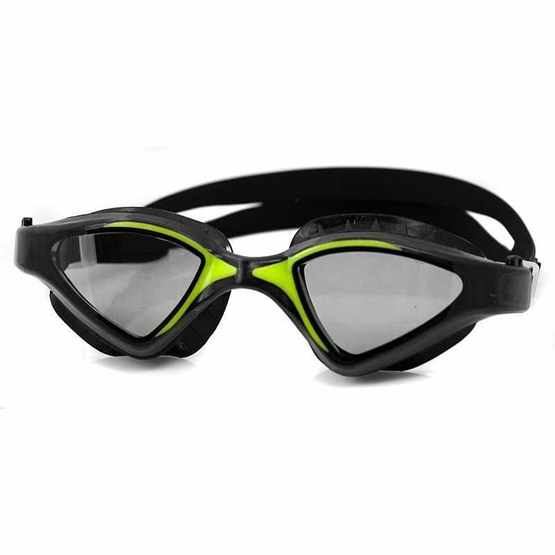Černo-zelené plavecké brýle Raptor, Aqua-Speed