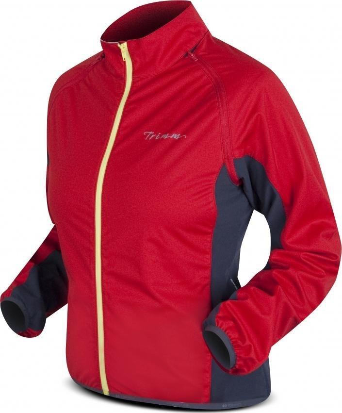 Červená dámská cyklistická bunda Trimm