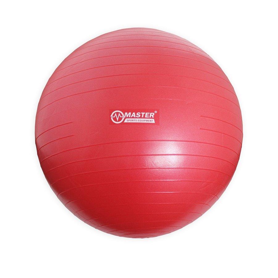 Šedý gymnastický míč Super Ball, Master Pool - průměr 75 cm