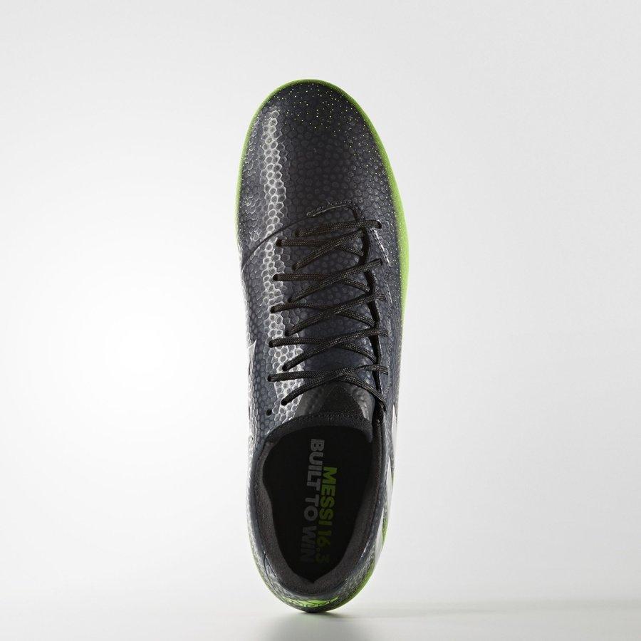 Černé kopačky lisovky Messi 16.3 FG, Adidas - velikost 44,5 EU