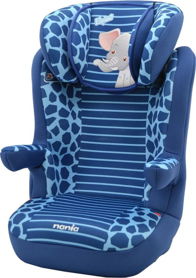 Modrá dětská autosedačka R-Way, Nania - nosnost 36 kg