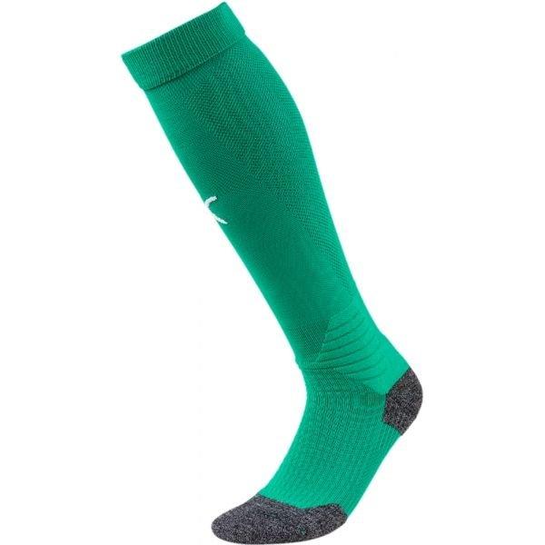 Zelené pánské fotbalové štulpny Puma