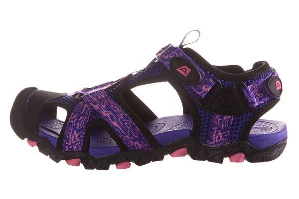 Fialové dětské sandály Alpine Pro