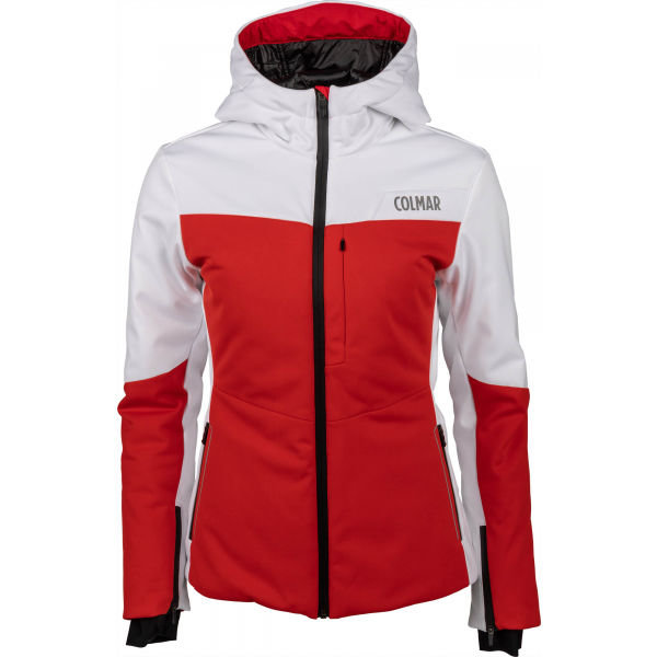 Bílo-červená dámská lyžařská bunda Colmar - velikost 38