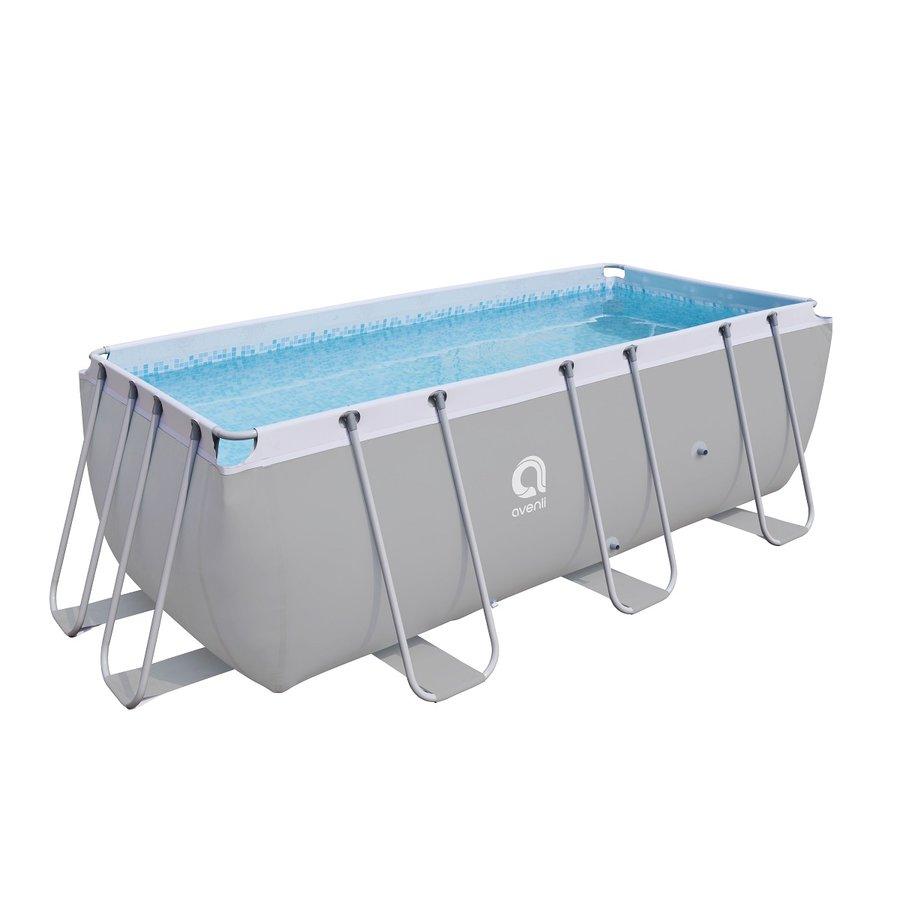 Nadzemní obdélníkový bazén Master Pool - délka 400 cm, šířka 207 cm a výška 122 cm