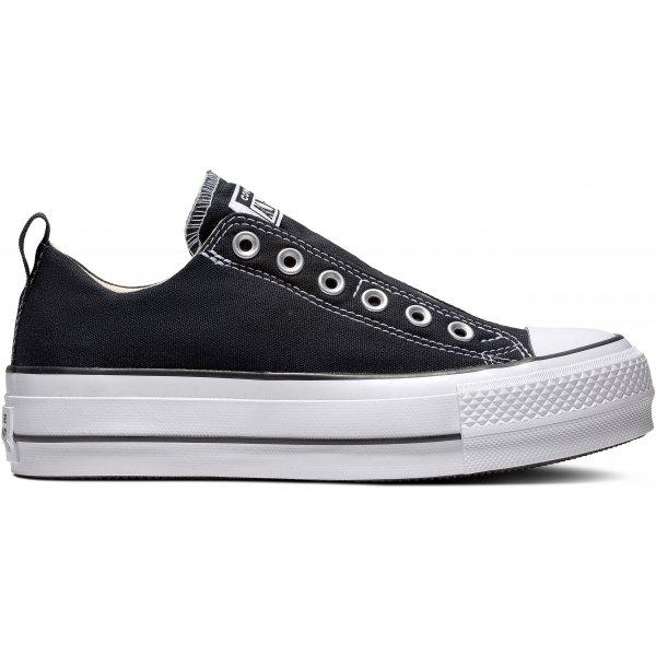 Bílo-černé dámské tenisky Converse - velikost 39,5 EU