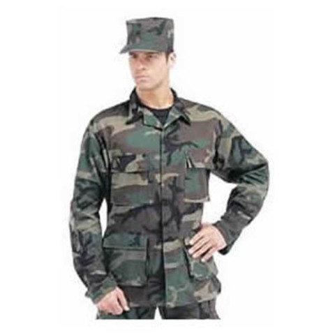 Vojenská blůza - Blůza US typ BDU rip-stop WOODLAND
