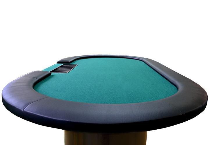 Zelený pokerový stůl pro 10 osob Garthen