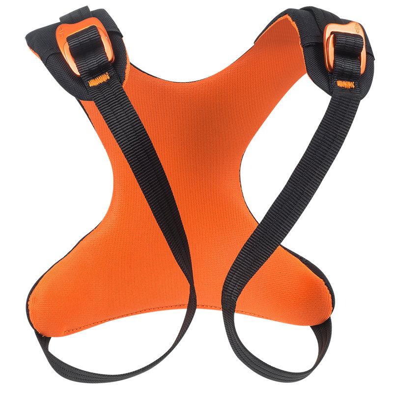Oranžový dětský horolezecký úvazek Rise Up, Beal