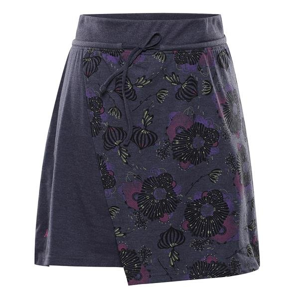 Černá dámská sukně Alpine Pro
