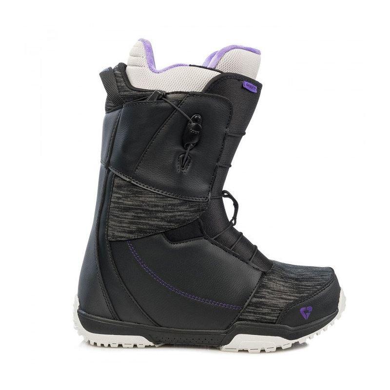 Černé dámské boty na snowboard Gravity