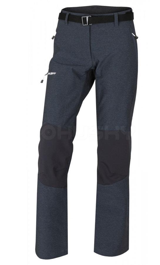 Šedé dámské kalhoty Husky - velikost L