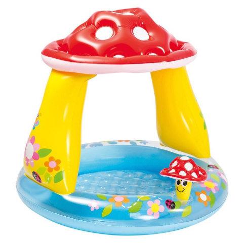Dětský nadzemní nafukovací kruhový bazén INTEX - průměr 102 cm a výška 89 cm