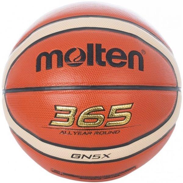 Oranžový basketbalový míč Molten