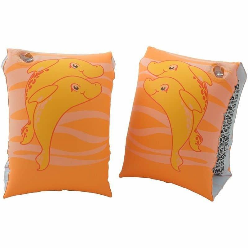 Oranžové dětské plavecké rukávky Aqua-Speed