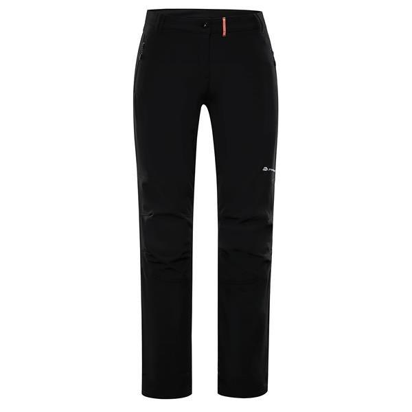 Černé softshellové pánské kalhoty Alpine Pro - velikost 56