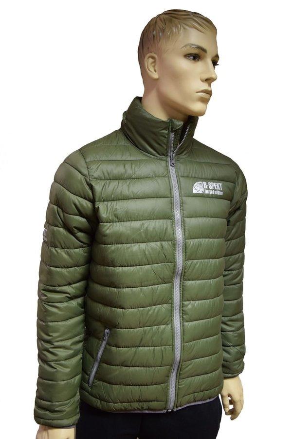 Zelená rybářská bunda R-Spekt - velikost M