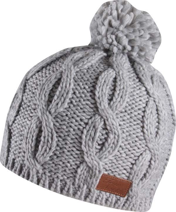 Zimní čepice - Čepice True North šedá