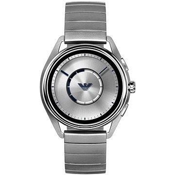 Stříbrné chytré pánské hodinky Matteo, Emporio Armani