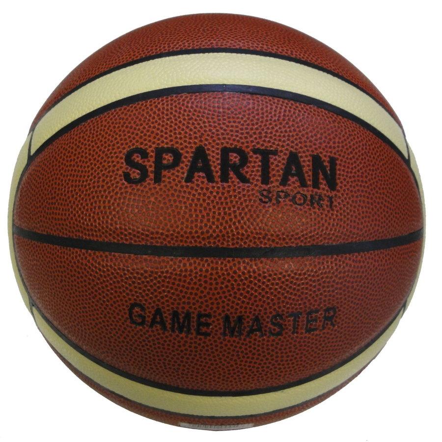 Oranžový basketbalový míč Game Master, Spartan - velikost 7