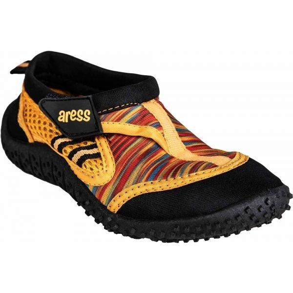 Oranžové dětské boty do vody Aress
