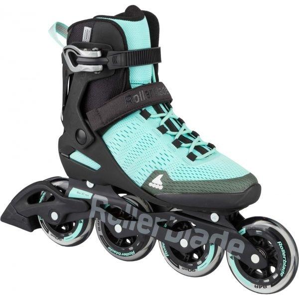 Černo-modré dámské kolečkové brusle Rollerblade