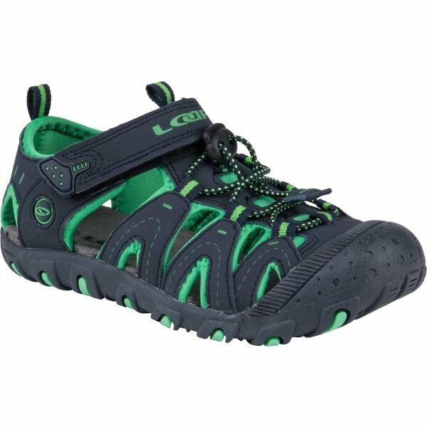 Zelené dětské sandály Loap
