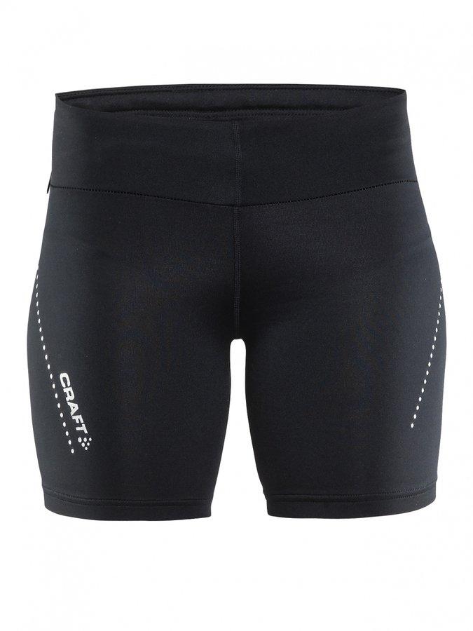 Černé dámské běžecké kraťasy Craft - velikost S