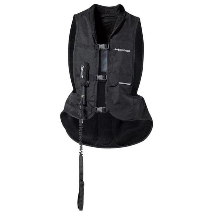 Černá airbagová vesta Held